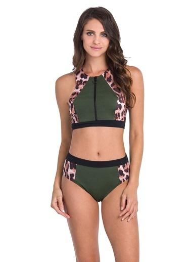Dagi Büstiyer Bikini Takım Yeşil